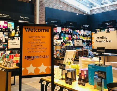 Amazon's new store only sells products with 4-star ratings and above