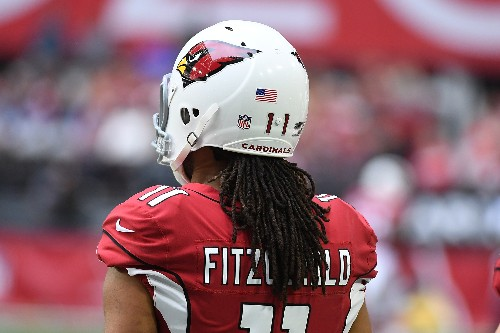 Larry Fitzgerald coming back in 2018 makes us happy. But he's deserved better