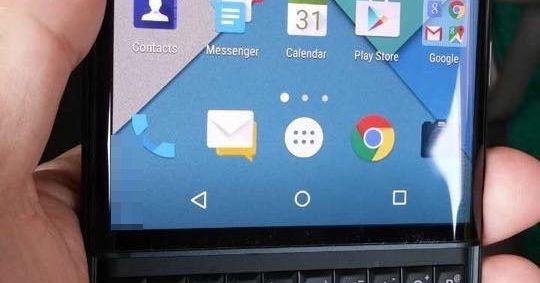 Here's our best look yet at BlackBerry's upcoming Android slider