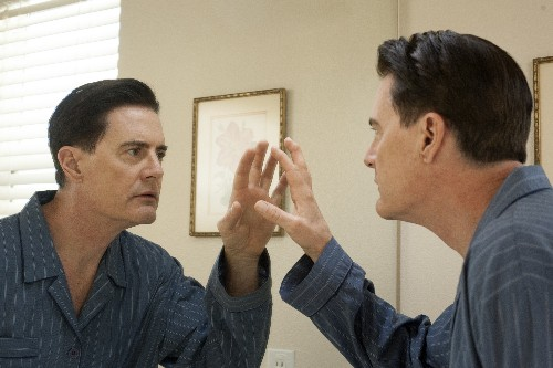 Agent Cooper in Twin Peaks is the audience: once delighted, now disintegrating