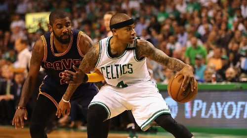 What the Cavs' Concerns About Isaiah Thomas's Health Mean for the Kyrie Irving Trade