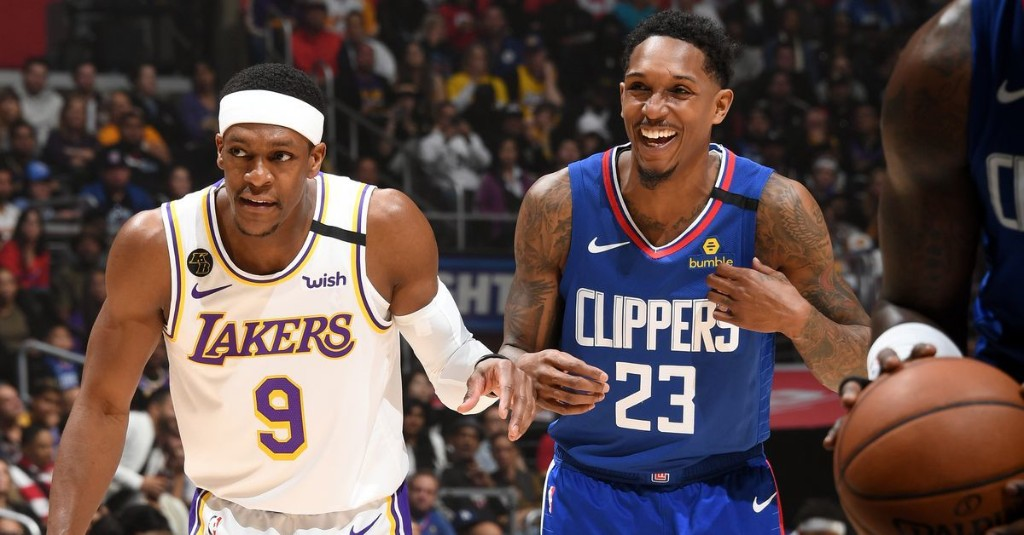 The Clippers want Rajon Rondo, but the Lakers are 'determined' to keep him