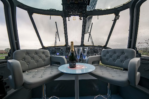 Glamp in a helicopter at this upscale Scottish retreat