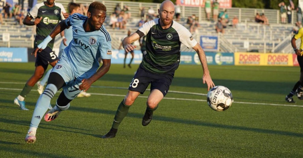Sporting KC II surrender goal at the death to split points with St. Louis FC