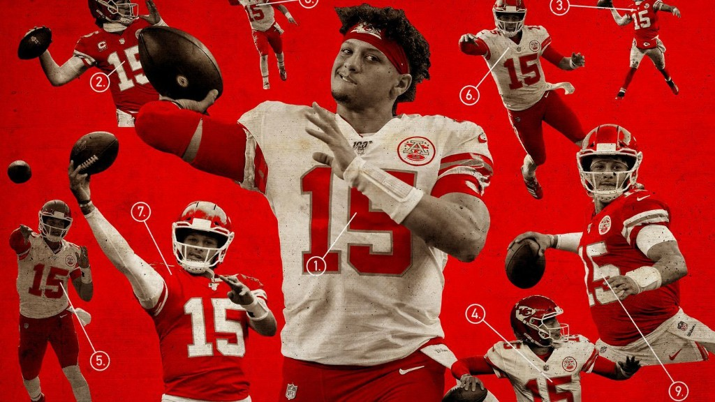 The Glossary of Ridiculous Patrick Mahomes Throws