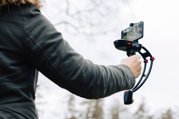The Steadicam Volt is a camera stabilizer for your smartphone