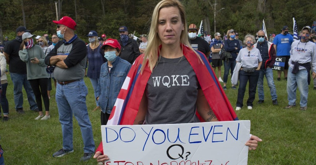 QAnon Goes To Washington, D.C.