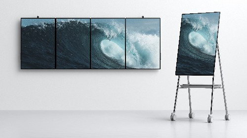 Microsoft's Surface Hub 2 is designed for an office of the future