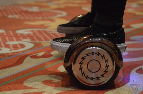 Razor promises its Hovertrax hoverboard won't catch fire or explode