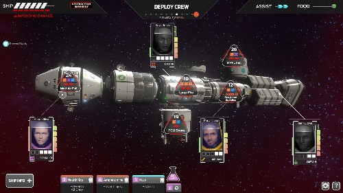 Tharsis is a video game about life's mundane decisions — and also space cannibalism