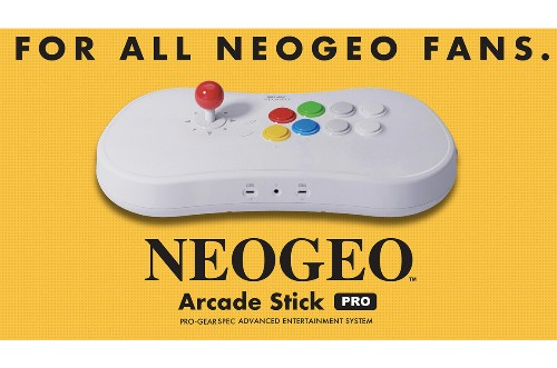 SNK announces Neo Geo Arcade Stick Pro with 20 pre-loaded games