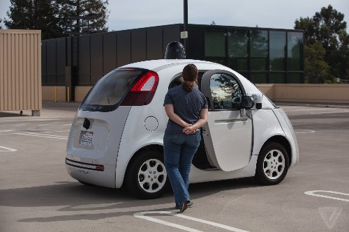Even the door on Google's self-driving car has its own patent
