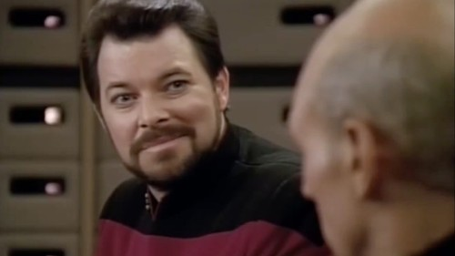 Star Trek fan gives William Riker the hilarious, strange TV show he deserves