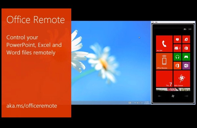 Microsoft's Office Remote lets you control Word, Excel, and PowerPoint with a Windows Phone