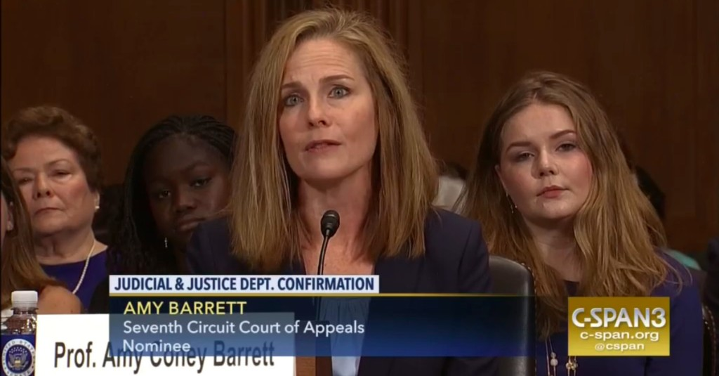 Is it anti-Catholic to ask a Supreme Court nominee how her religion affects her decisions?