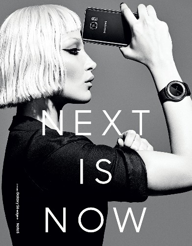 Samsung reveals new Gear smartwatch in garish fashion shoot