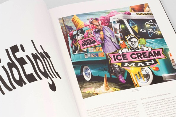 A new  book showcases the visual history of hip-hop mixtape art