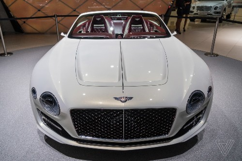 Bentley challenges Tesla's idea of electric luxury with a gorgeous new concept car