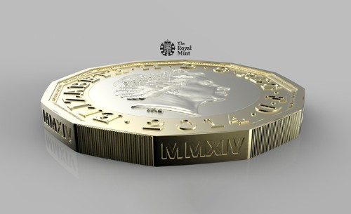 UK's new 12-sided £1 said to be the world's most secure coin