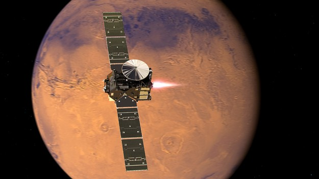 Phase one of the ExoMars mission launches to find life on the Red Planet