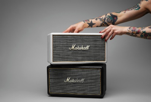 Classic rock: Marshall's Stanmore speaker has a retro feel
