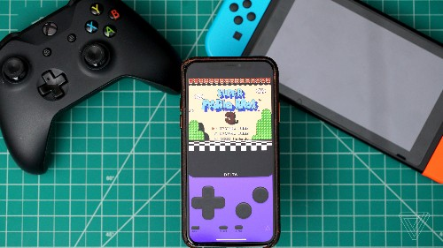 AltStore is an alternative iOS App Store with a built-in Nintendo emulator