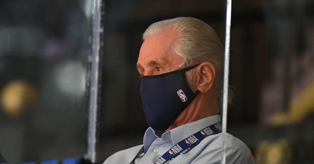 Pat Riley discusses off-season priorities in media address