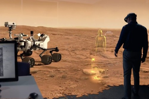 How holograms can help NASA explore Mars