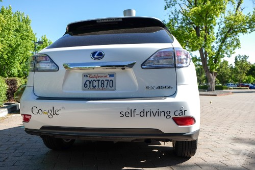 A Google self-driving car caused a crash for the first time