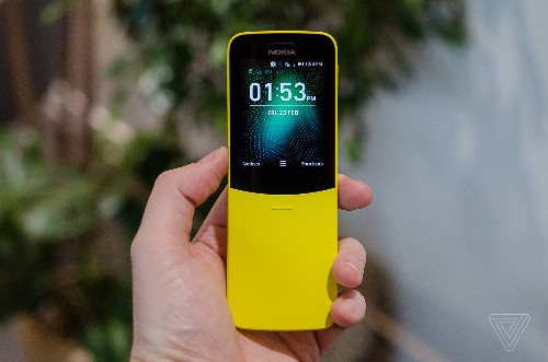 Nokia's banana phone from The Matrix is back