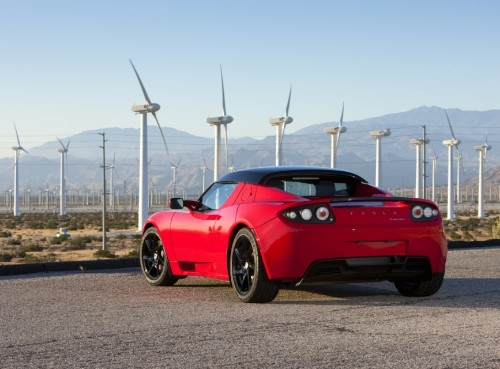 Tesla's Roadster is getting an upgrade to nearly double its range