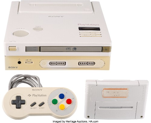 Rare 'Nintendo Play Station' prototype going up for auction