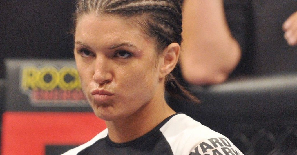 Gina Carano vs. Ronda Rousey was undone by an obscene text from Dana White
