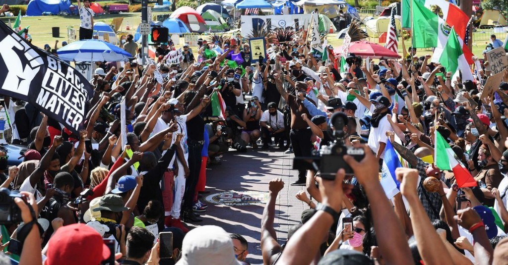 Protests for Black lives are still happening
