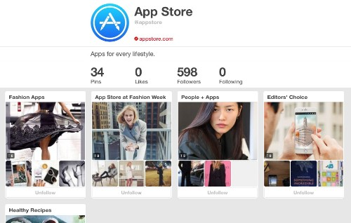 Now you can download iPhone apps directly within Pinterest