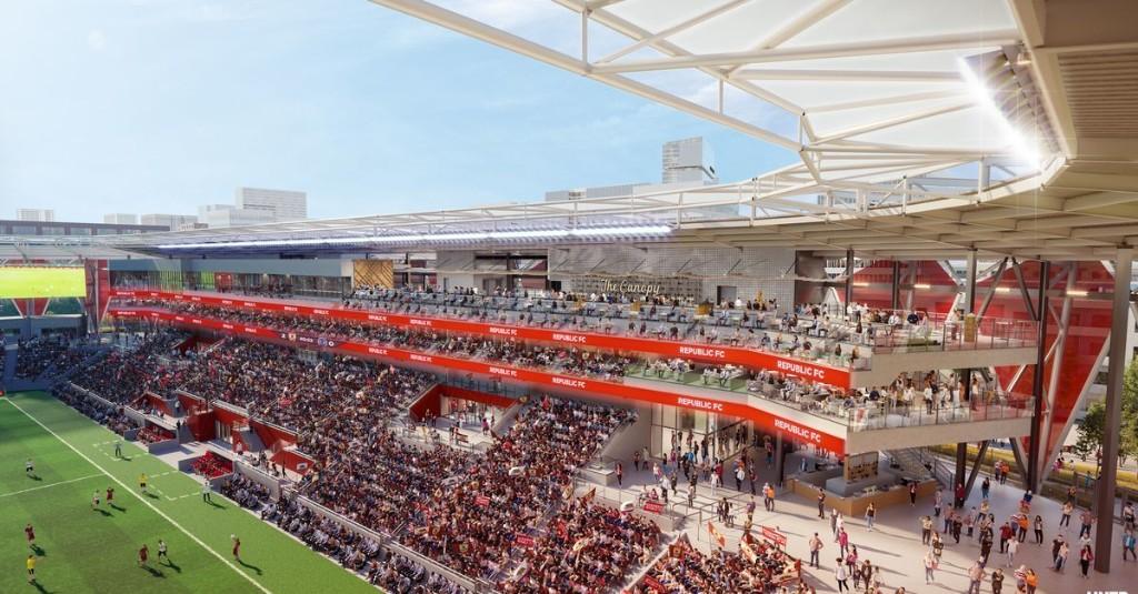 Sac Republic wait stadium construction date, but work well underway