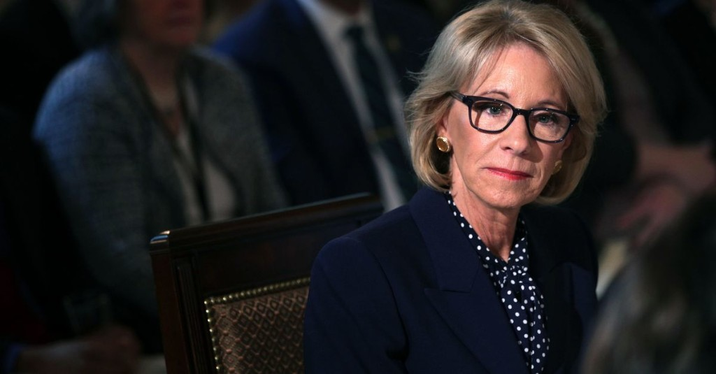 DeVos wants to give Michigan private schools an extra $20M for COVID-19 relief. The state schools chief is pushing back.