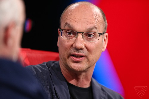 Andy Rubin has left his own incubator — but he's still in the building