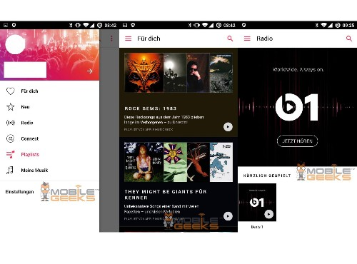 This could be what Apple Music looks like on Android