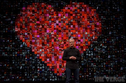Thank you, Tim Cook