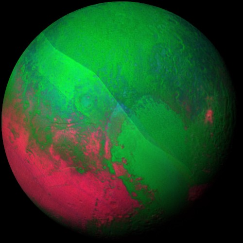 NASA releases a colorful, psychedelic video of Pluto