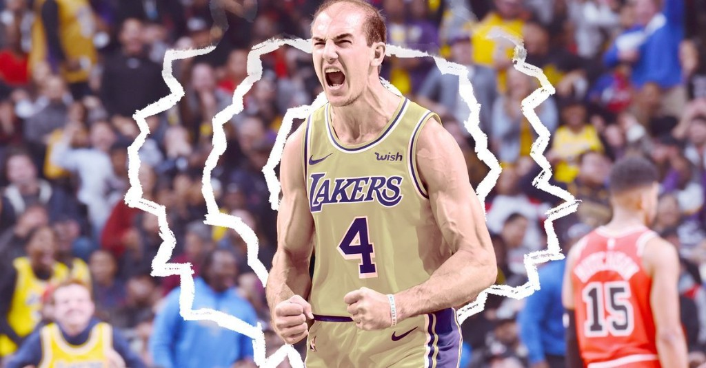 The internet's guide to Alex Caruso, Lakers cult hero
