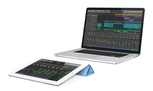 Apple gives musicians iPad control over updated Logic Pro X