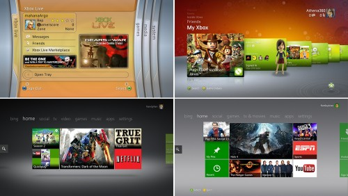 A visual history of the many Xbox dashboards