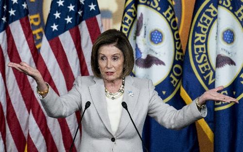 """""""I have no idea"""": Pelosi shuts down Senate Republicans' impeachment timeline"""