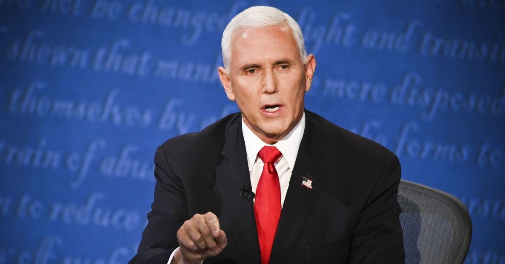 """""""Mr. Vice President, I'm speaking"""": Kamala Harris repeatedly shut down Mike Pence's interruptions at the debate"""