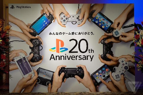 The PlayStation is 20 years old today