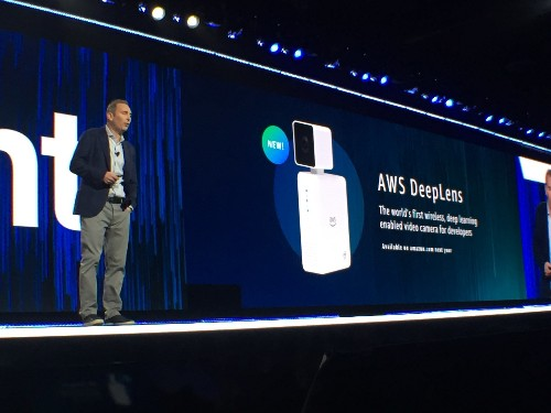 Amazon unveils $250 AI camera and machine learning tools for businesses