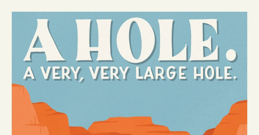 Artist creates postets from one-star reviews of national parks