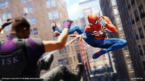 Spider-Man on PS4 makes you feel like a superhero